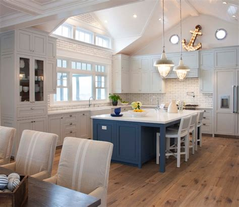 Coastal Kitchen Cabinets Coastal Living Magazine Showhouse 2014 Style Kitchen Other Metro By Flagg Coastal