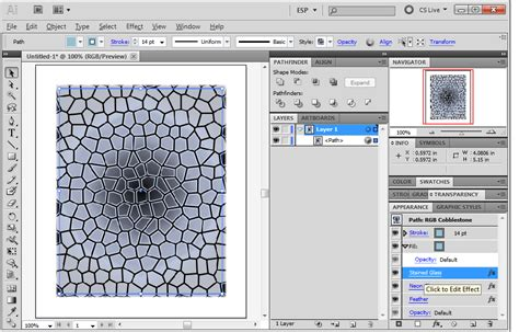 pattern illustrator edit can i resize the texture pattern that applied via