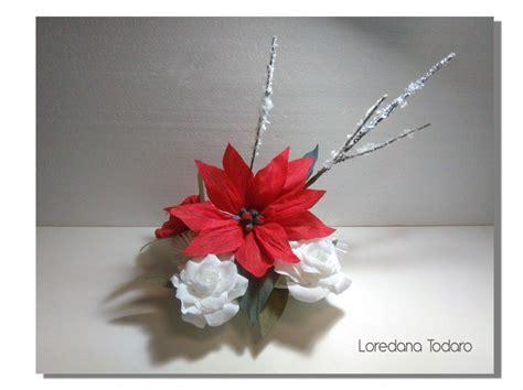 fiori natalizi di carta natale