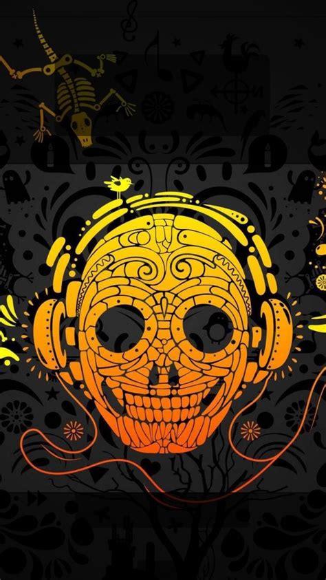 skull pattern lock screen tap and get the free app lockscreens art creative skull