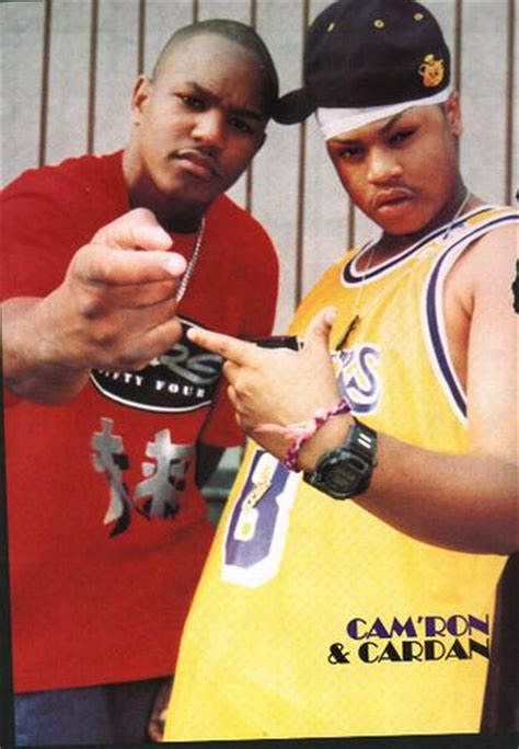 mase cardan cam ron rhyming on dj clue show on 97