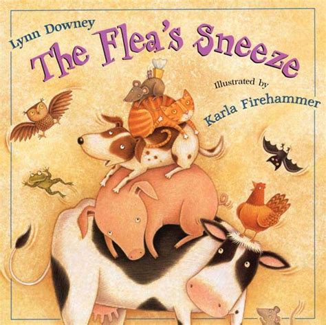 the sneeze books the flea s sneeze downey macmillan