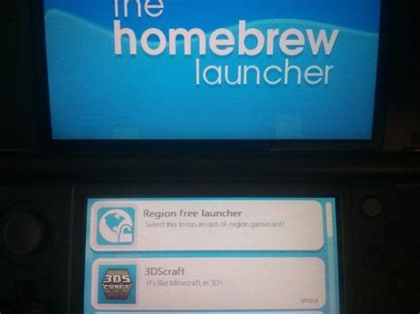 ps4 themes region 3ds smealum shows ironhax running the homebrew launcher