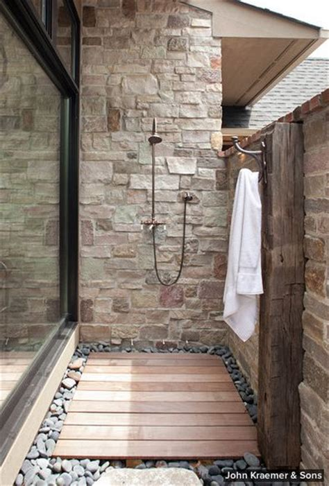 Indoor Outdoor Shower by Indoor Outdoor Shower Bathroom