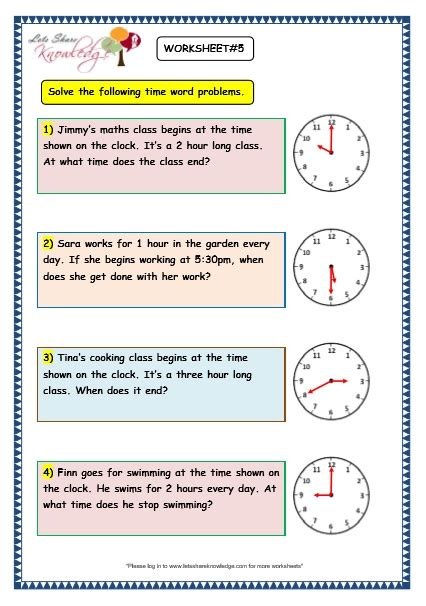 time word problem worksheets for grade 3 all worksheets 187 clock word problems worksheets