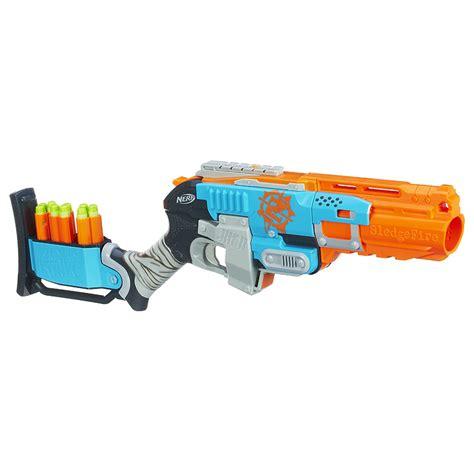 Gun Nerf Strike Sledgefire Nerf Strike Sledgefire Blaster Toys R Us