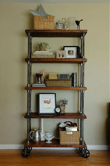 diy shelf ideas built with industrial pipe industrial