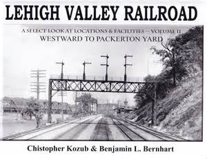 new lehigh valley railroad westward to packerton yard