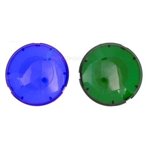 pool light lens cover pentair aqualuminator lens cover kit blue and green