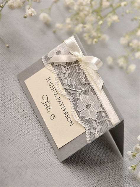 Handmade Place Cards For Weddings - 25 best ideas about table name cards on