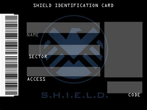 shield id card template shield id template by roxiwitch on deviantart