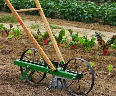 garden seeder hoss tools makes planting easy usa made