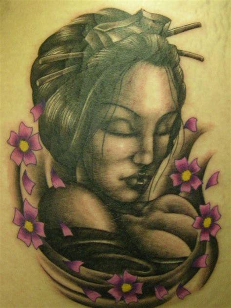 geisha tattoo on dark skin 11 gorgeous geisha tattoo for your artistic side project