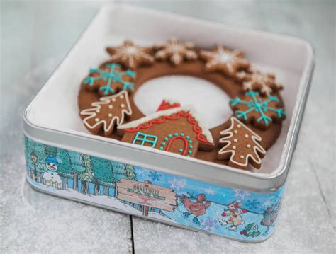 advent biscuit gift tin honeywell bakes iced biscuit gifts