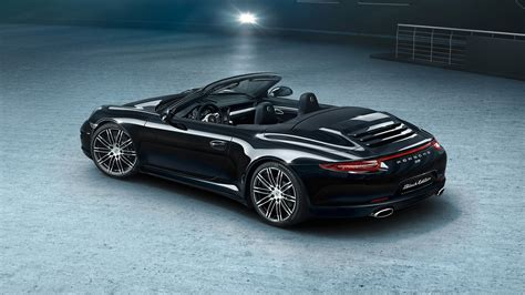 porsche convertible black here s your gallery of porsche s new 911 and boxster black
