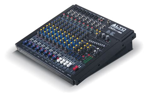 Mixer Alto 12 Ch alto professional zeephyr zmx124fxu 12 channel mixer w fx