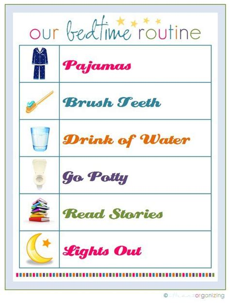 printable toddler morning routine chart 17 best ideas about bedtime routine chart on pinterest