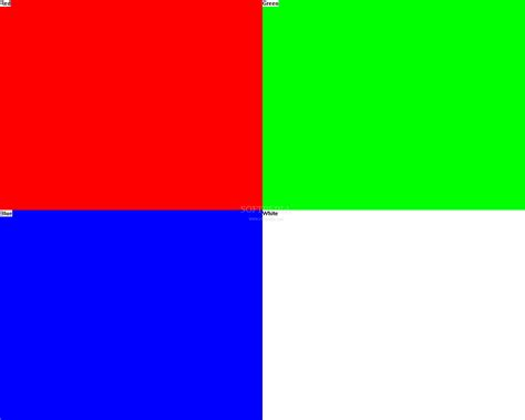 color pattern monitor monitor test download