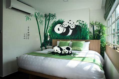 panda room the arts king panda themed room picture of hotel clover the arts singapore tripadvisor