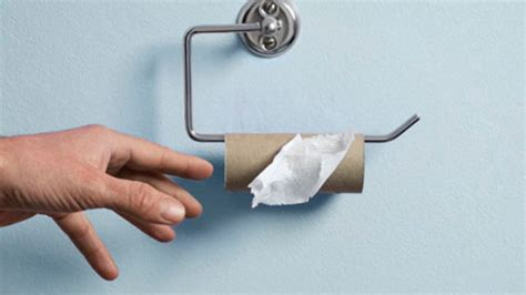 Why Did They Stop Colored Toilet Paper - rescues with no toilet paper