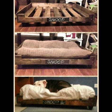 diy bed 40 x 34 pallets dogs diy and crafts and diy