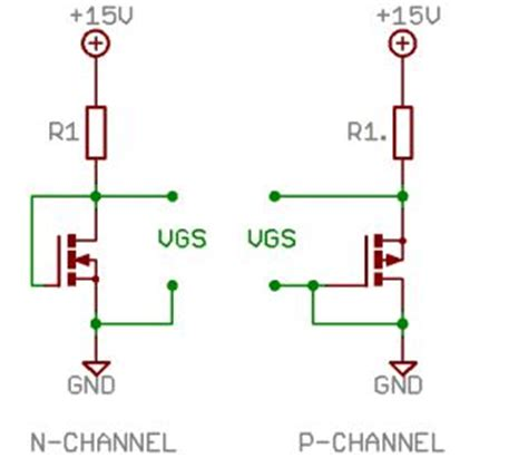 mosfet gs resistor transistor matching