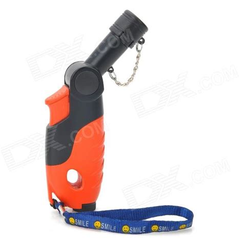 Gas Torch Orange By Ono Shop buy fs56 rotating butane jet torch lighter orange black