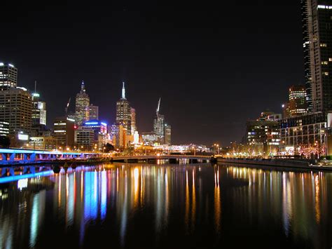 melbourne city lights by countdowntoepiphany on deviantart