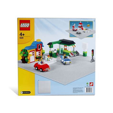 lego loz baseplate 4 4cm white lego 628 x large gray baseplate at hobby warehouse