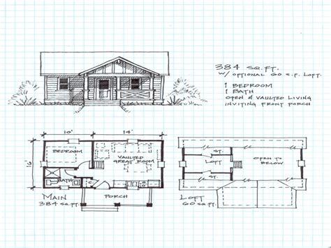 small cabin with loft floor plans small house plans small cabin plans with loft plans for