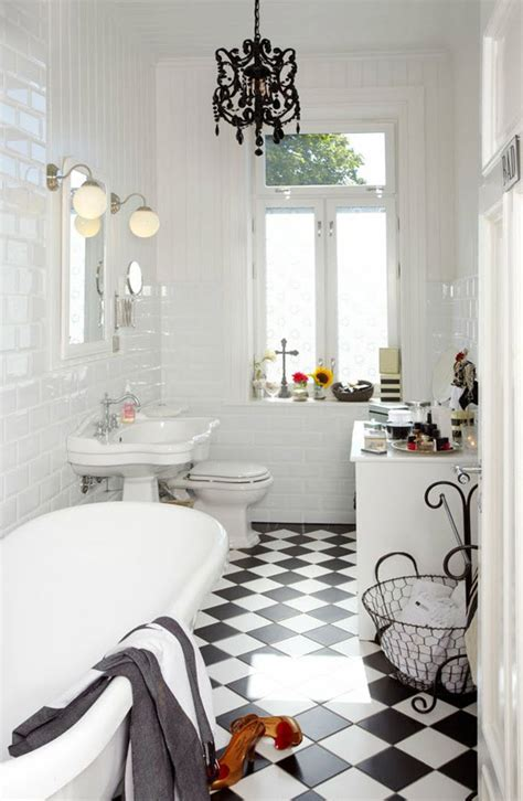 checkerboard bathroom floor 31 black and white checkered bathroom tile ideas and pictures