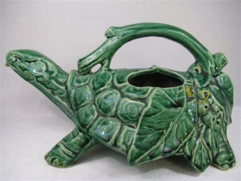 Mccoy Frog Planter by Mccoy Pottery Frog Planter Turtle Sprinkler 2081963