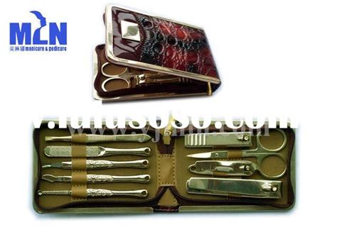 Dar Expo Minicure Set manicure pedicure set for china shanghai expo souvenirs printing nail tool bag