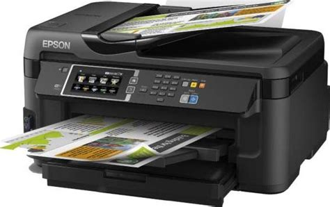 Printer Epson Print Scan Copy A3 epson workforce wf 7610dwf a3 duplex business printer with
