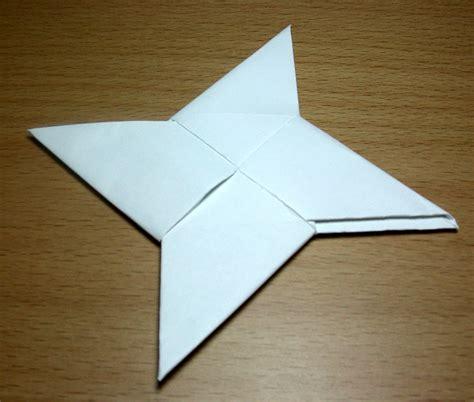 How To Make A Shuriken Origami - shuriken de origami taringa