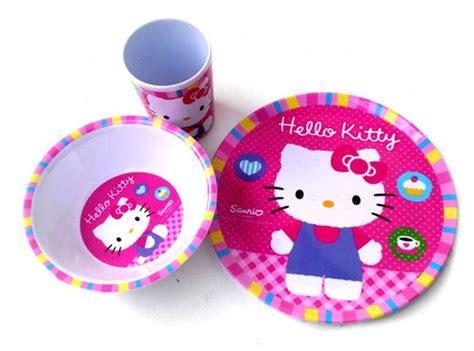 Set Piring Mangkok Melamin Anak Bayi Karakter Doraemon Hello Set Makan Minum Lucu Toko Bunda