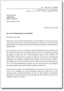 Praktikum Bewerbung Bei Der Bank Bewerbung Praktikum Sch 252 Ler Muster Vorlage Zum