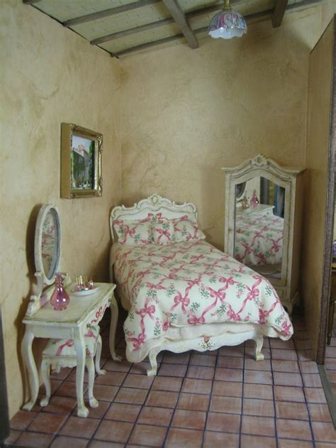 doll house bedroom dollhouse miniature french bedroom miniature doll house stuff pin