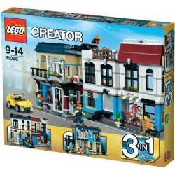 lego creator bike shop caf 233 1023pc s from conrad