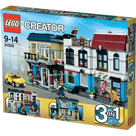 lego creator lego creator bike shop caf 233 1023pc s from conrad