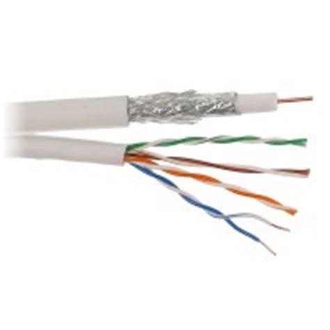 Kabel Coaxial Rg6 8 Meter coax combikabel utp