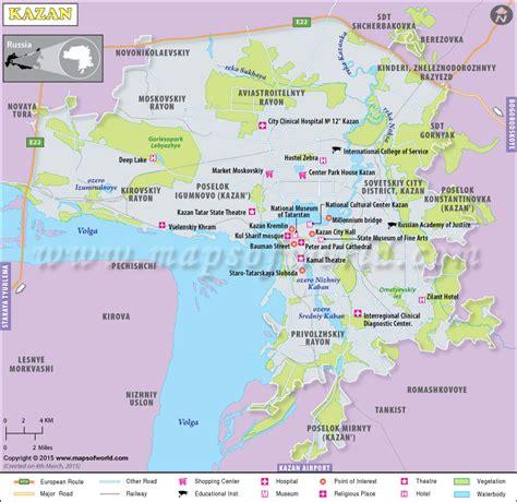 maps kazan russia kazan map kazan russia