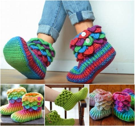 crocodile stitch slippers pattern crochet slippers the best collection the whoot