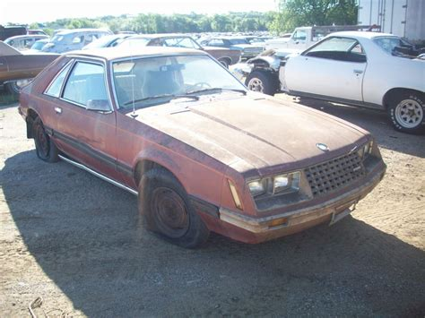 Mustang Auto Parts by 1980 Ford Mustang Ii Parts Car
