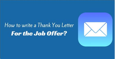 best solutions of thank you letter job offer acceptance sample