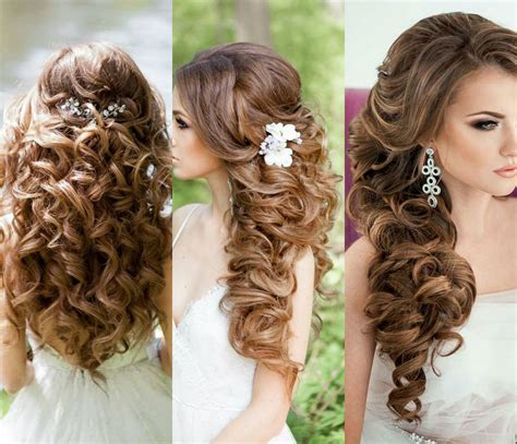 hair hairstyle ideas of bridal curly hairstyles for every length hairs