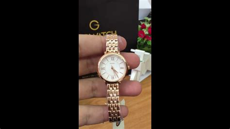 Fossil Es3799 Jacqueline Mini fossil jacqueline silver gold tone stainless