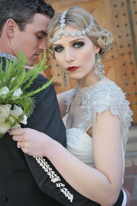 gatsby bobs for a wedding 30 ways to style short hair for your wedding bridal musings