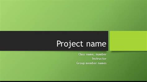 layout for formal presentation to large groups free group project template for powerpoint online free