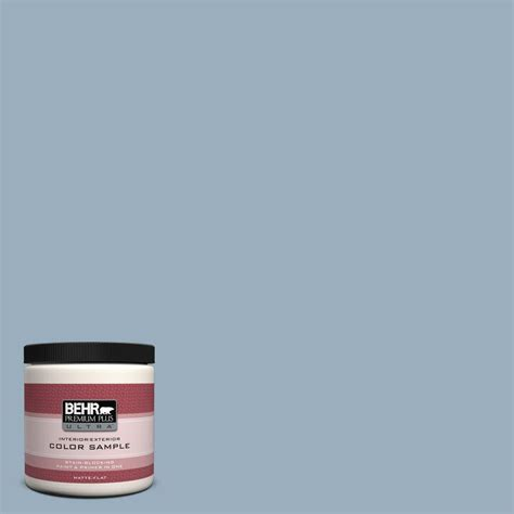 behr premium plus ultra 8 oz 560f 4 russian blue interior exterior paint sle 560f 4u the